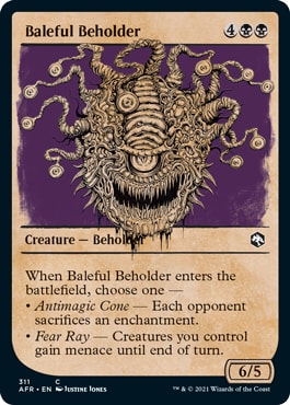 Baleful Beholder Alternate DND Style