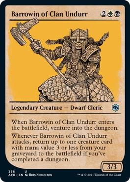 Barrowin of Clan Undurr Alt Art