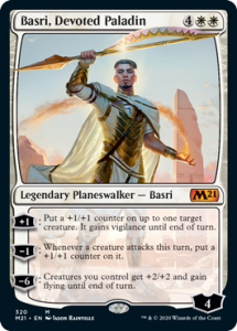 Basri Devoted Paladin Planeswalker Decks Core 2021 Upgrade Guide