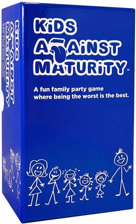 Best Card Games for Families Kids Against Maturity