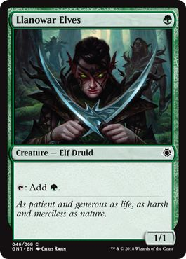 Best Cheap MTG Cards Llanowar Elves