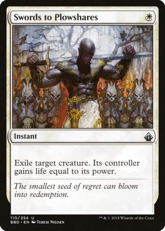Best Cheap MTG Cards Swords to Plowshares