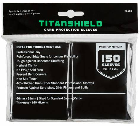 Best Cheap Value MTG Card Sleeves TitanShield