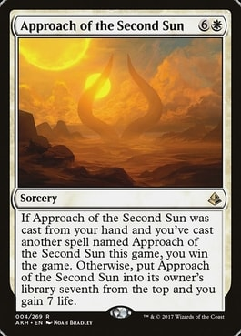 Best Commander Life Gain Cards Approach of the Second Sun
