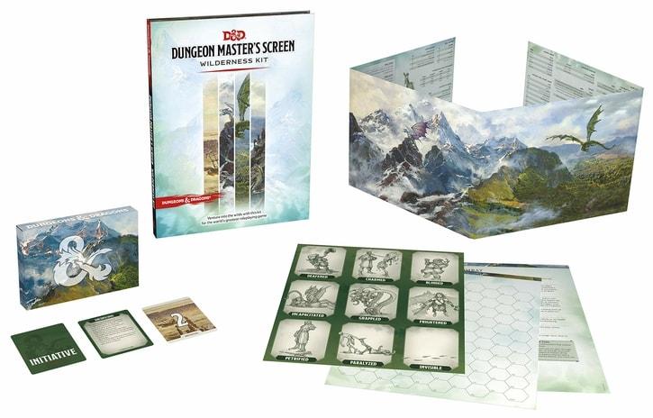 Best DM Screens Wilderness Kit DND Dungeon Master