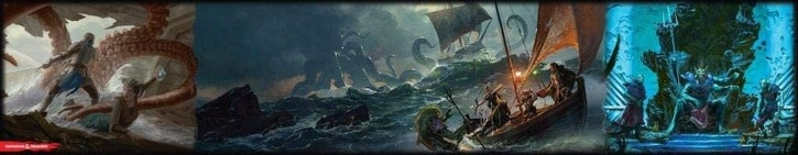 Best DM Screens of Ships and the Sea