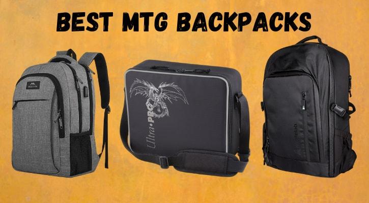 Best MTG Backpacks Bags for Cards Banner