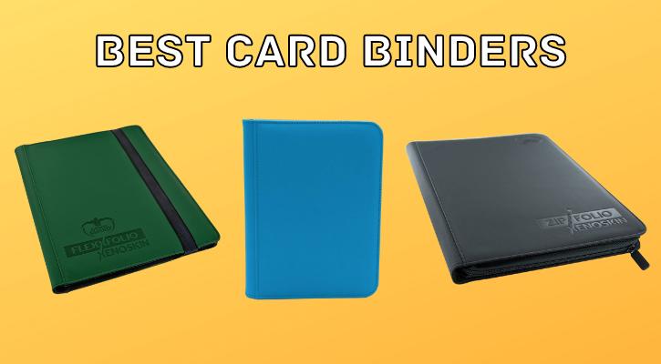 Best MTG Binders Cards Pokemon TCG Yugioh Banner