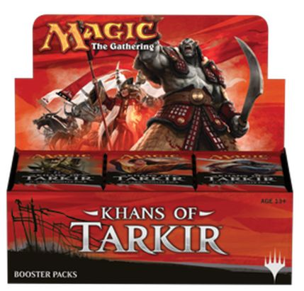 Best MTG Booster Box Khans of Tarkir Drafting
