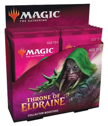 Best MTG Booster Box Premium Throne of Eldraine Collector Booster Display