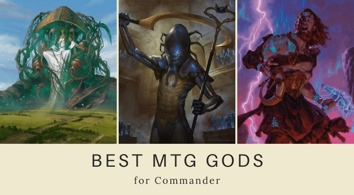 Best MTG Gods for Commander Banner