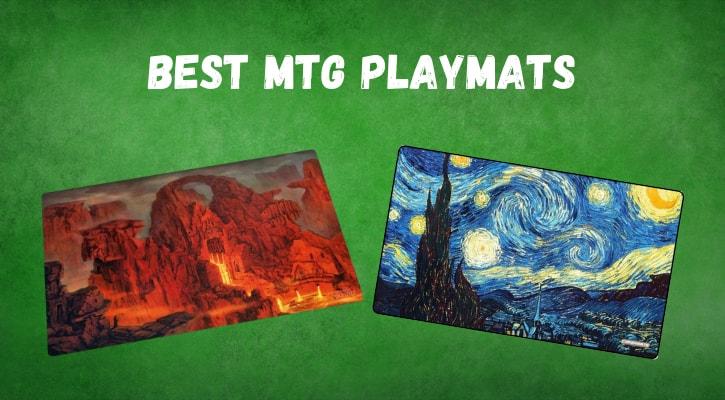 Best MTG Playmats TCG Pokemon Yugioh Banner