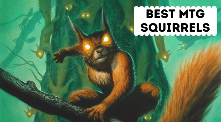 Best MTG Squirrels Tribal Cards Banner