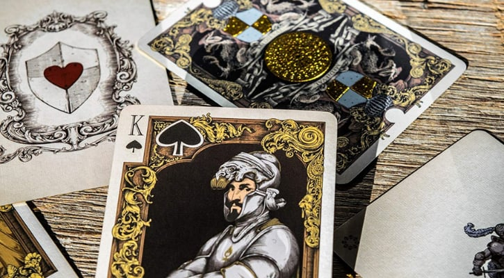 Best Playing Cards Medieval Design