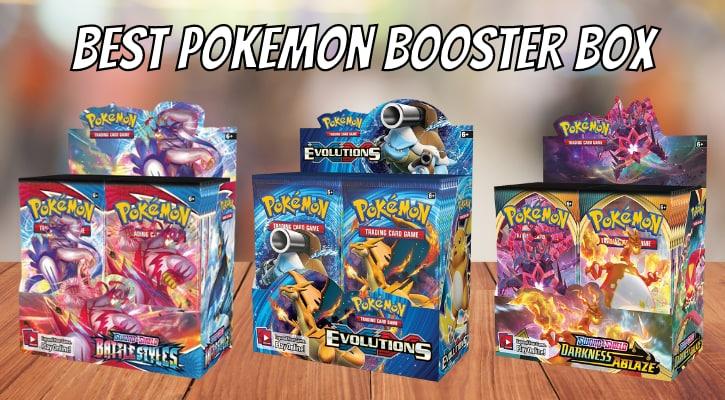 Best Pokemon Booster Box 2021 Banner