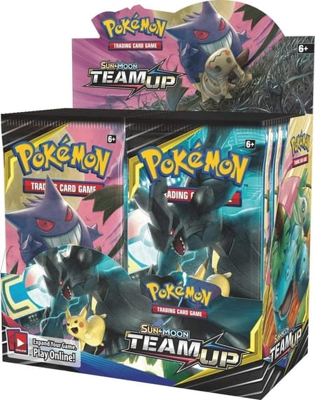 Best Pokemon Booster Box to Buy Team Up