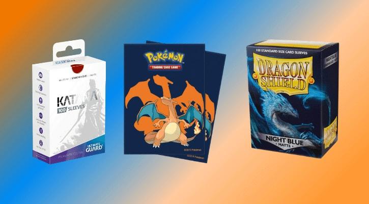 Best Pokemon Card Sleeves Banner