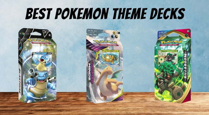 Best Pokemon Theme Decks TCG Banner