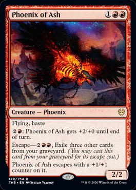 Best Standard Decks MTGA Obosh Red Phoenix of Ash