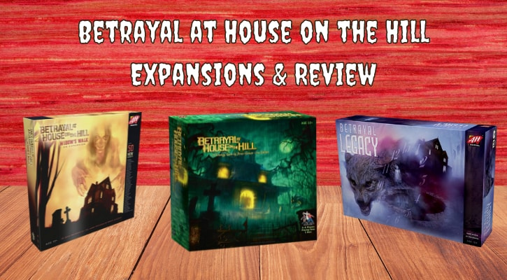 Betrayal at House on the Hill Expansions Review Banner