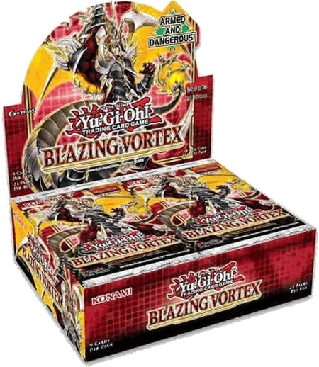 Blazing Vortex Newest Best Yu-Gi-Oh Booster Box