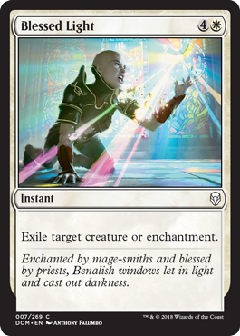 Dominaria Draft Guide Blessed Light