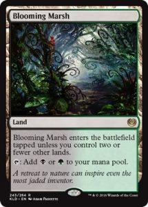 Blooming Marsh Kaladesh Remastered Spoilers