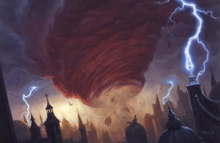 Blue Commander Staples Cyclonic Rift
