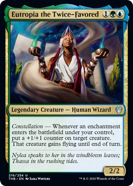 Eutropia the Twice-Favored Commander 2020 Year Review