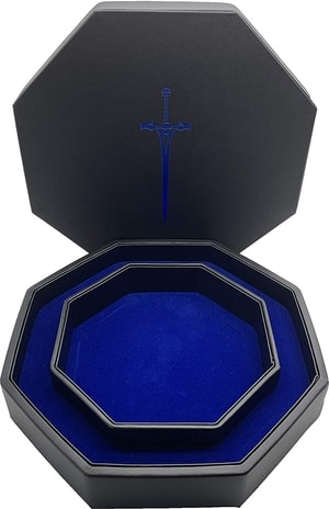 Blue Sword Tray of Holding DIce Tray