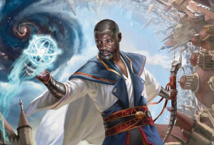 Blue White Yorion Control Decklist Teferi Banner