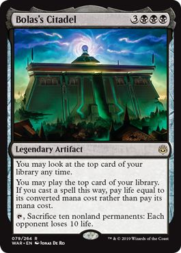 Bolas's Citadel Witherbloom Witchcraft