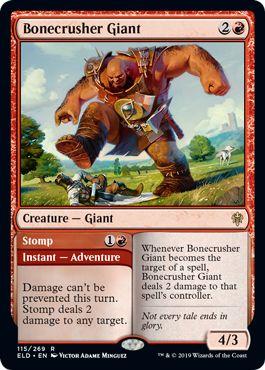Bonecrusher Giant Stomp