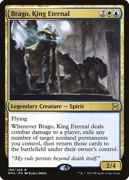 Brago, King Eternal Best Commanders MTG of All Time