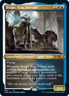 Brago King Eternal Commander Legends Reprints