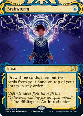 Brainstorm Mystical Archive Cards List