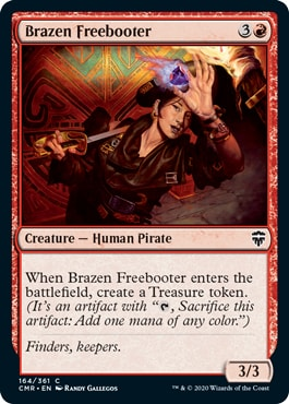 Brazen Freebooter Commander Legends Spoilers