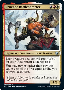 Bruenor Battlehammer Forgotten Realms Spoilers
