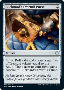Bucknard's Everfull Purse MTG