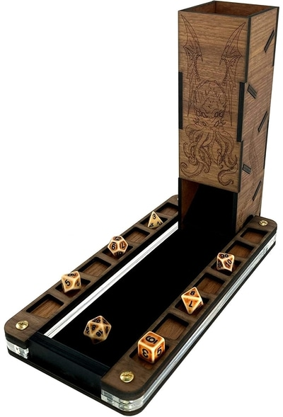 C4 Labs Dice Tower DND RPG