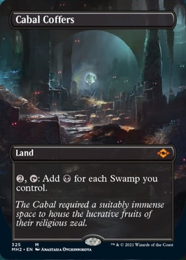 Cabal Coffers Alternate Art What's in Modern Horizons 2 Collector Booster