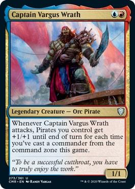 Captain Vargus Wrath Commander Legends Spoilers