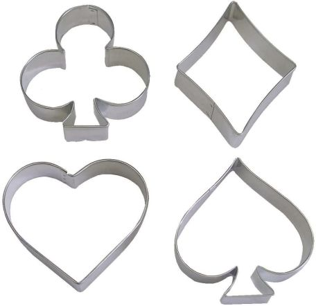 Card Symbols Cookie Cutters