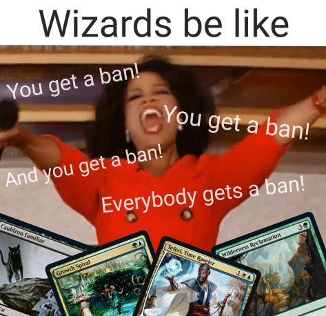 New Standard Decks After Bans Meme