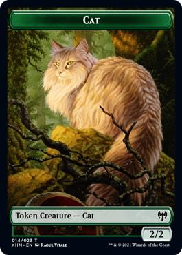 Cat Token Kaldheim