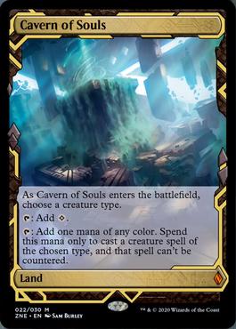 Cavern of Souls Zendikar Rising