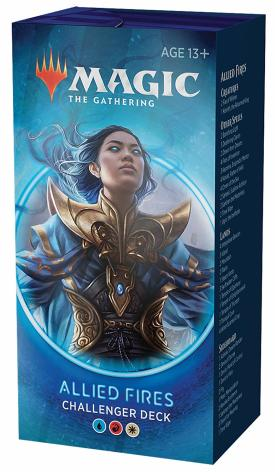Challenger Deck 2020 MTG Allied Fires Upgrades