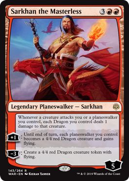 Challenger Decks 2020 Allied Fires Upgrade Sarkhan the Masterless