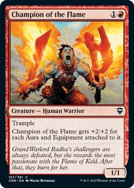 Champion of the Flame Commander Legends All Cards