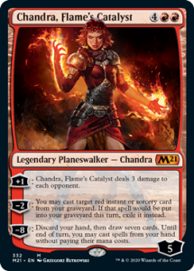 Chandra Flames Catalyst Planeswalker Decks Core 2021 Upgrade Guide